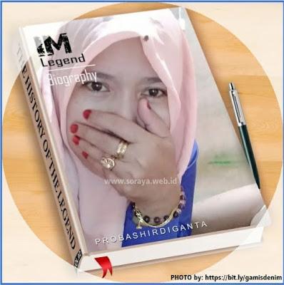 photo biografi soraya feraniditha blogger wanita berjilbab