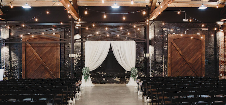 Say Hello to this Cranberry Urban Winter Wedding