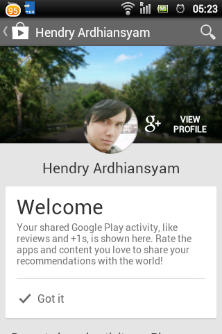 Google Play Store 4.5.10 Google Plus