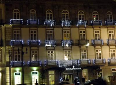 decoração em fachada de prédio no Porto