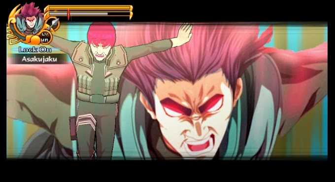 Download Mod Texture Might Guy [The 8 Gate Mode] NSUNI For Emulator PPSSPP