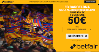 betfair supercuota copa Barcelona gana Athletic 6 febrero 2020