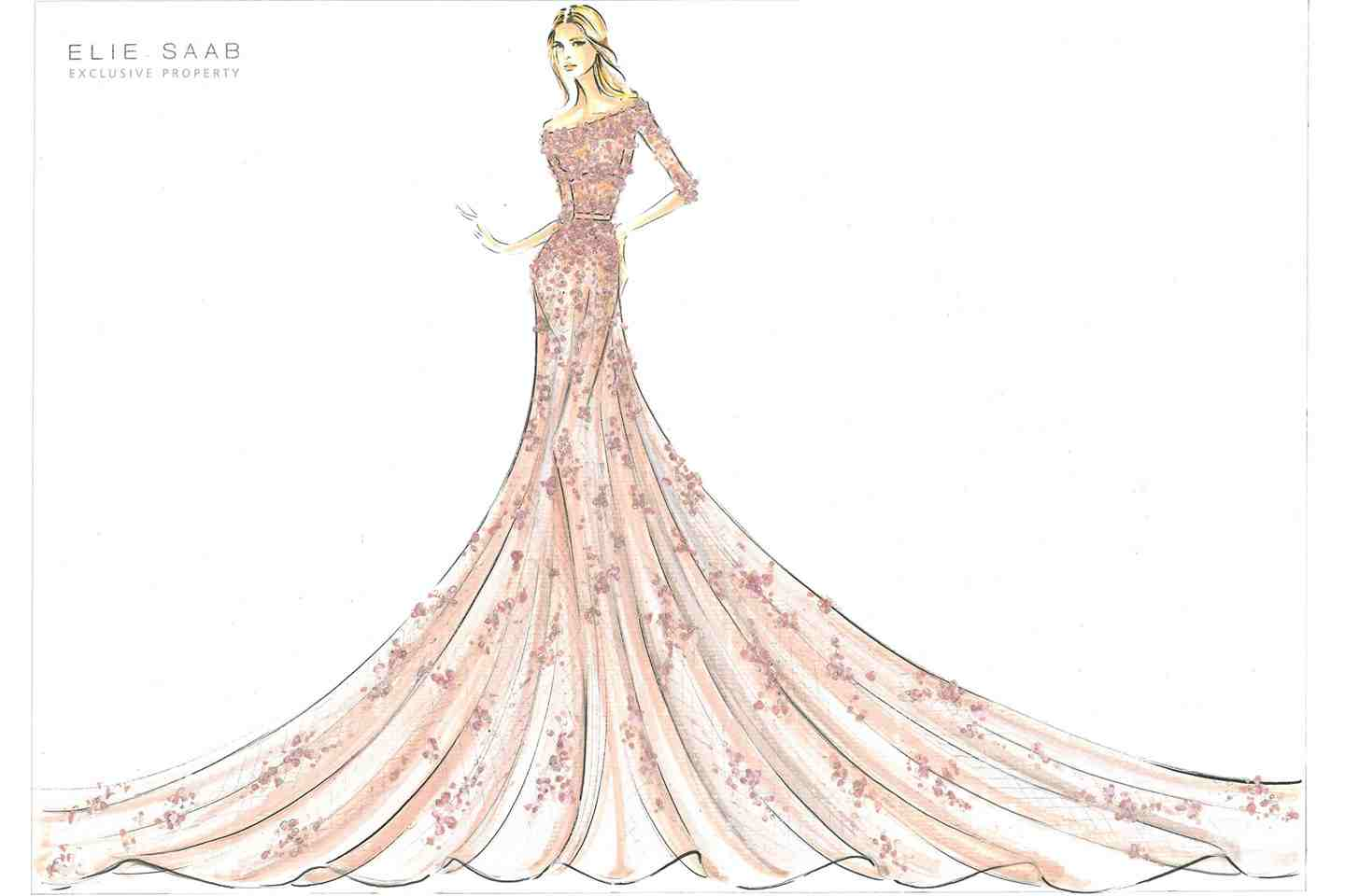 Quinceanera Dresses Drawings Princess Gowns For Harrods
