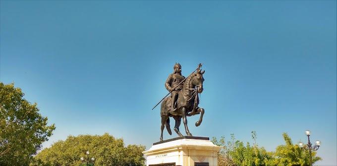 Maharana Pratap Singh statue at Udaipur