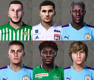 PES 2020 New Facepack by Raden