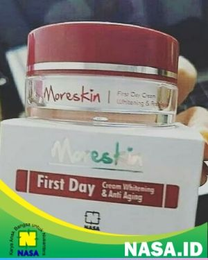 Moreskin First Day Cream Whitening and Anti Aging