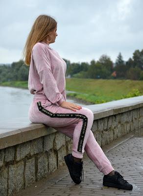 Najbardziej wygodny dres! ♥ Think pink. ♥