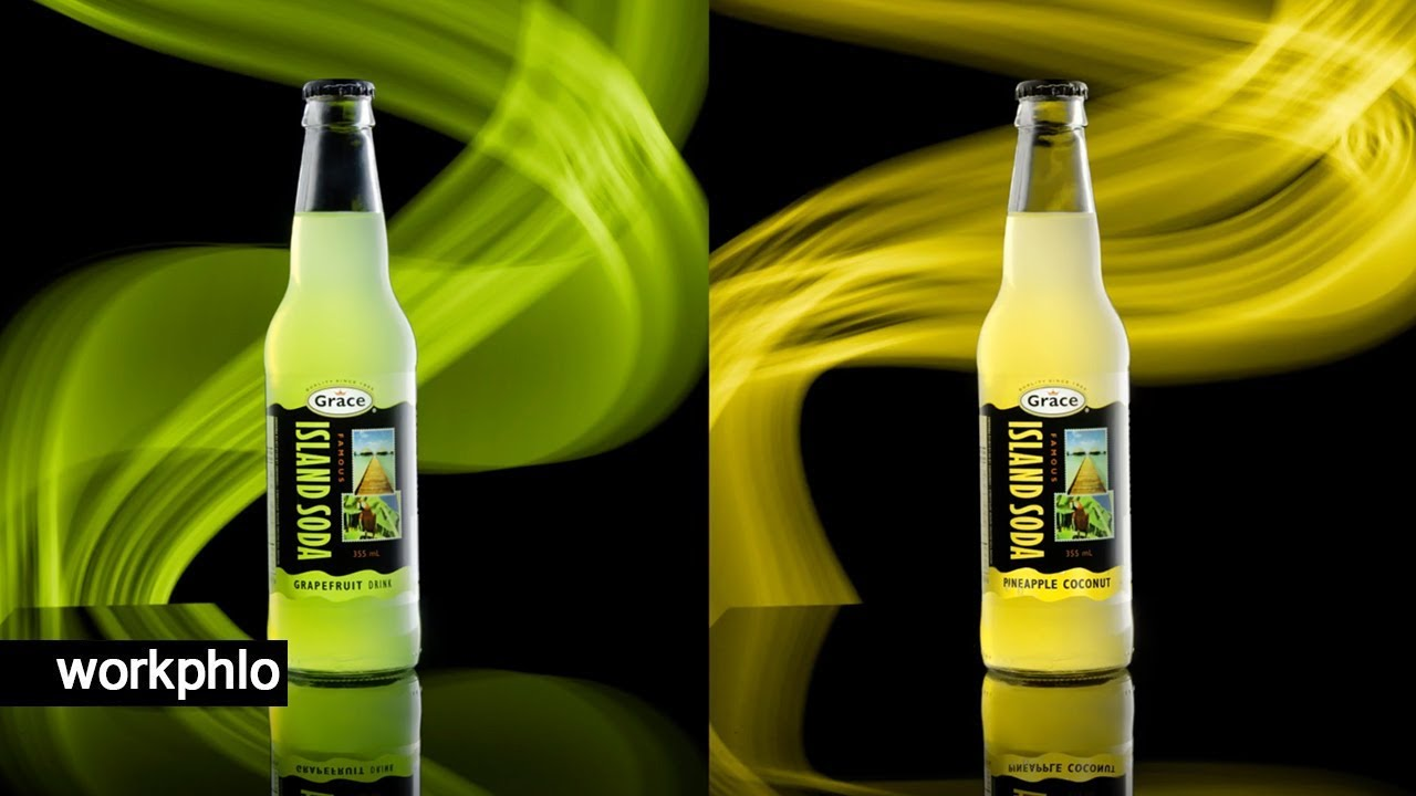How to Light Paint Product Photography Backgrounds
