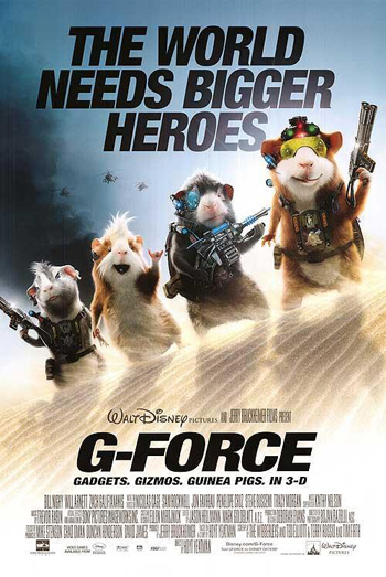 G-Force 2009 Dual Audio ORG Hindi 720p BluRay 1GB poster