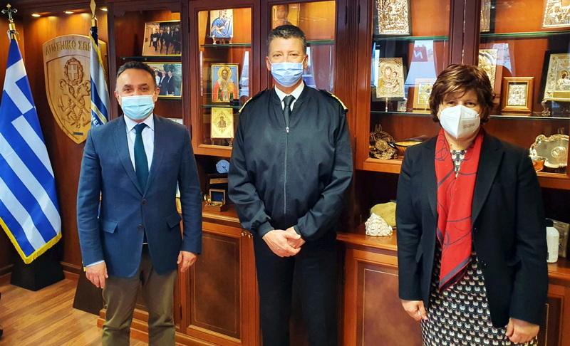 Συνάντηση Κελέτση με Γεν. Γραμματέα Αιγαίου και Αρχηγό Λιμενικού Σώματος για Λιμεναρχείο Αλεξανδρούπολης και Λιμενική Ακαδημία