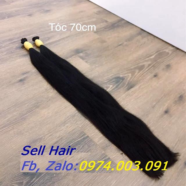 Tóc nối dài 70cm, bán tóc nối đẹp giá rẻ nhất Hà Nội