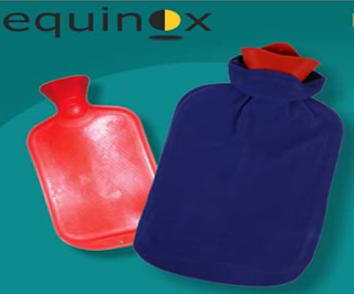 Equinox Hot Water Bottle with Cover (EQ-HT-01 C) to get Relief from muscular Pain