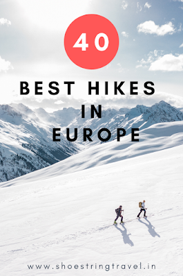 40 Best Hikes in Europe #Europe #Hike #BestHike