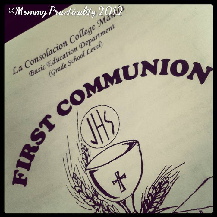 Preparing For My Son's First Holy Communion - Mommy Practicality
