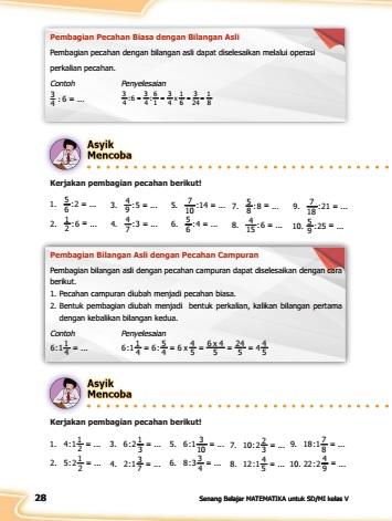 kunci jawaban buku matematika kelas 5 kurikulum 2013 revisi halaman 28