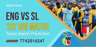 Eng vs Lanka 1st ODI Ball to ball Cricket today match prediction 100% sure Cricfrog Who Will win today England vs Sri Lanka 100% Sure match prediction 2021