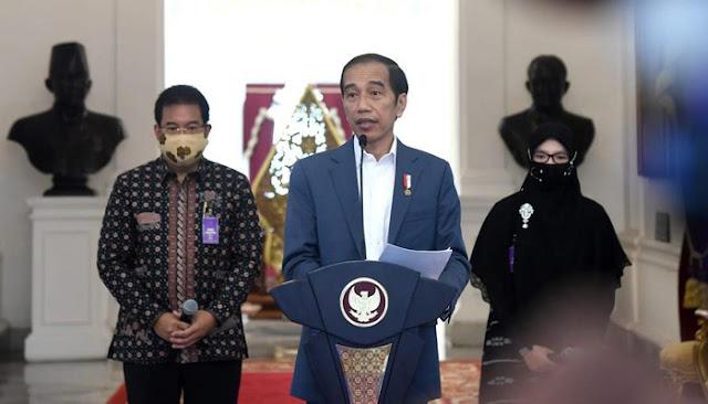 Jokowi Bicara Sorotan Jurnalis Asing dan Komunikasi Tim yang Tak Gamblang