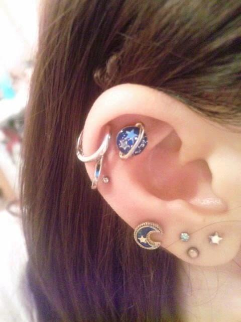 Cute Trendy Earrings For Girls  Cool Ear Piercing Designs