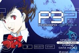 Save Game 100% Shin Megami Tensei Persona 3 Portable PSP