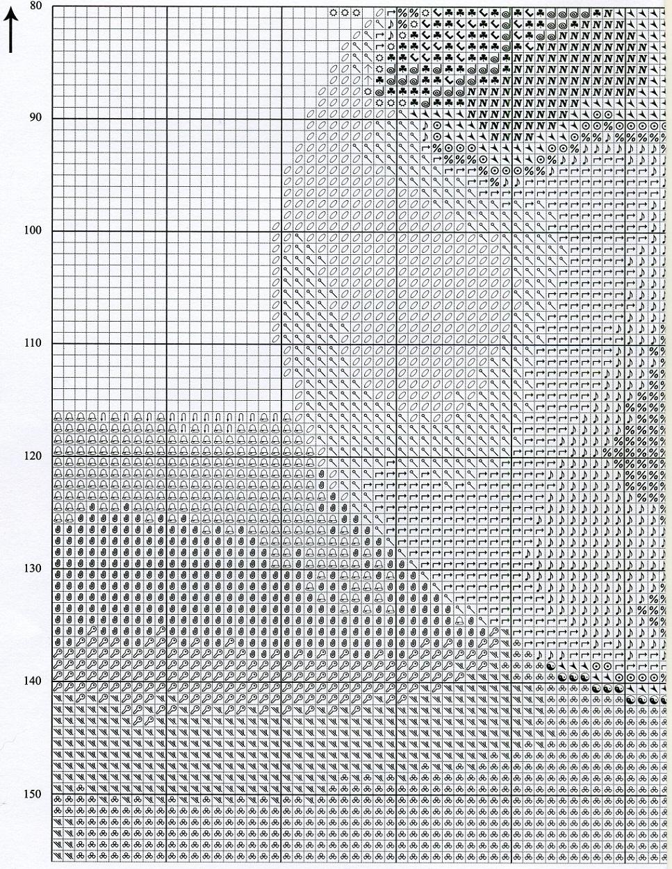 схема вышивки вальс