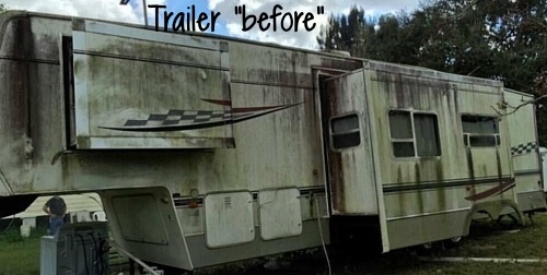 "Trailer ""before"""