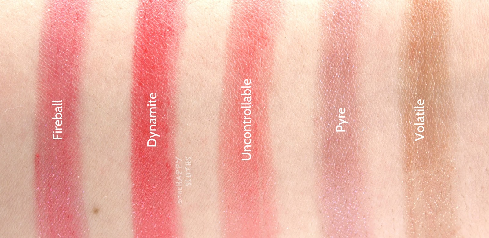 Buxom Shimmer Shock Lip Stick: Review and Swatches