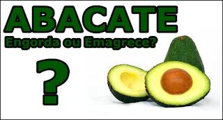 Comer abacate engorda ou emagrece?