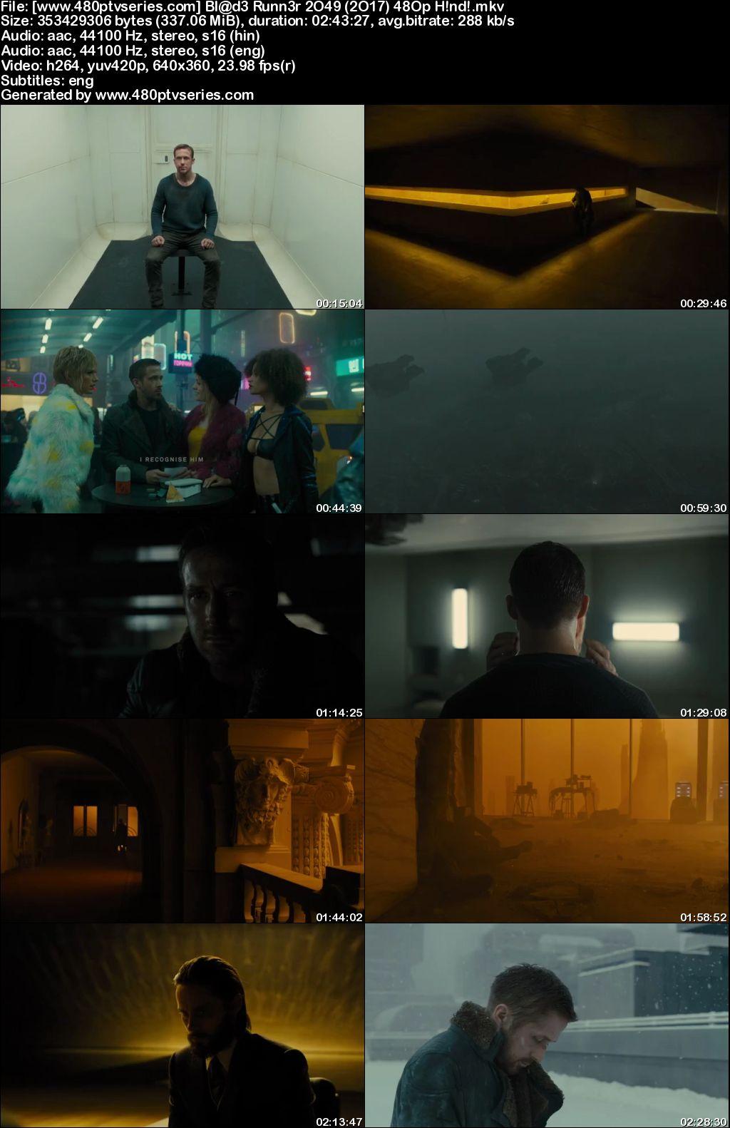 Blade Runner 2049 (2017) 300MB Full Hindi Dual Audio Movie Download 480p Bluray Free Watch Online Full Movie Download Worldfree4u 9xmovies
