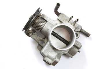 Autocurious throttle body of a vehicle