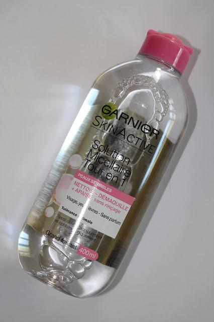 Solution Micellaire Tout en 1 Peaux Sensibles SkinActive - Garnier