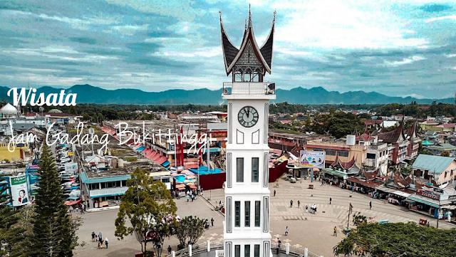 Objek wisata Jam Gadang di Kota Buittingi