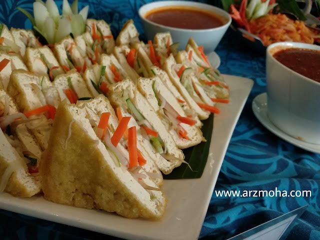 tauhu sumbat, menu buffet ramadhan vistana hotel penang, buffet ramadhan vistana hotel 2018, menu berbuka buffet ramadhan 2018, 101 resipi tok wan menu tradisional melayu,