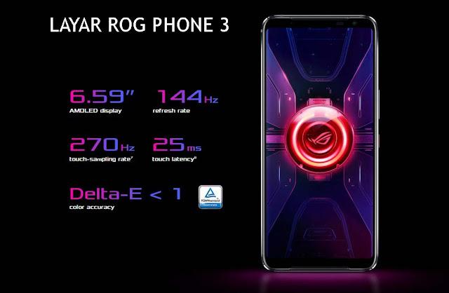 Visual ASUS ROG Phone 3 865 Plus yang Terbaik