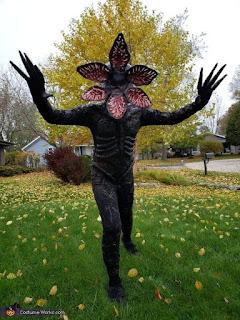 Disfraz Demogorgon Stranger Things Halloween 2019
