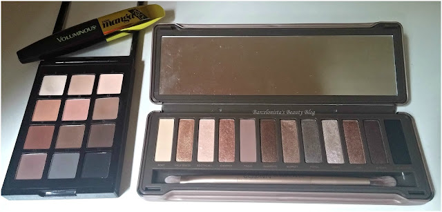 Urban Decay Naked 2, Sonia Kashuk Eye on Neutral Matte