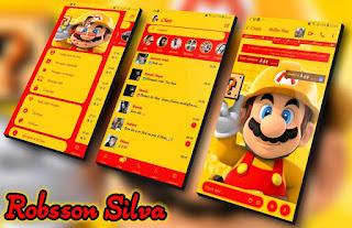 Mario Game Theme For YOWhatsApp & Fouad WhatsApp By R̳o̳b̳s̳s̳o̳n̳