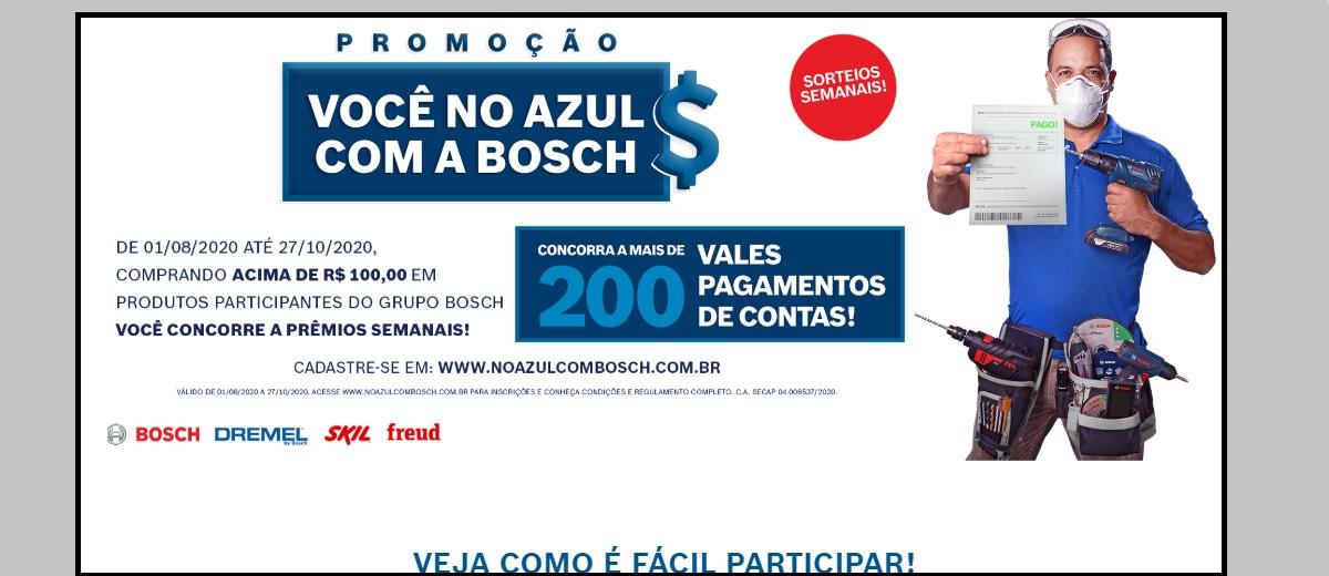 Participar Promoção Bosch 2020 Sorteio Prêmios