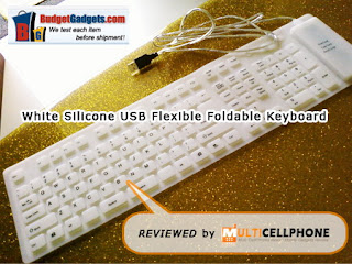 Review: Silicone USB Flexible Foldable Keyboard from BudgetGadgets.com 3