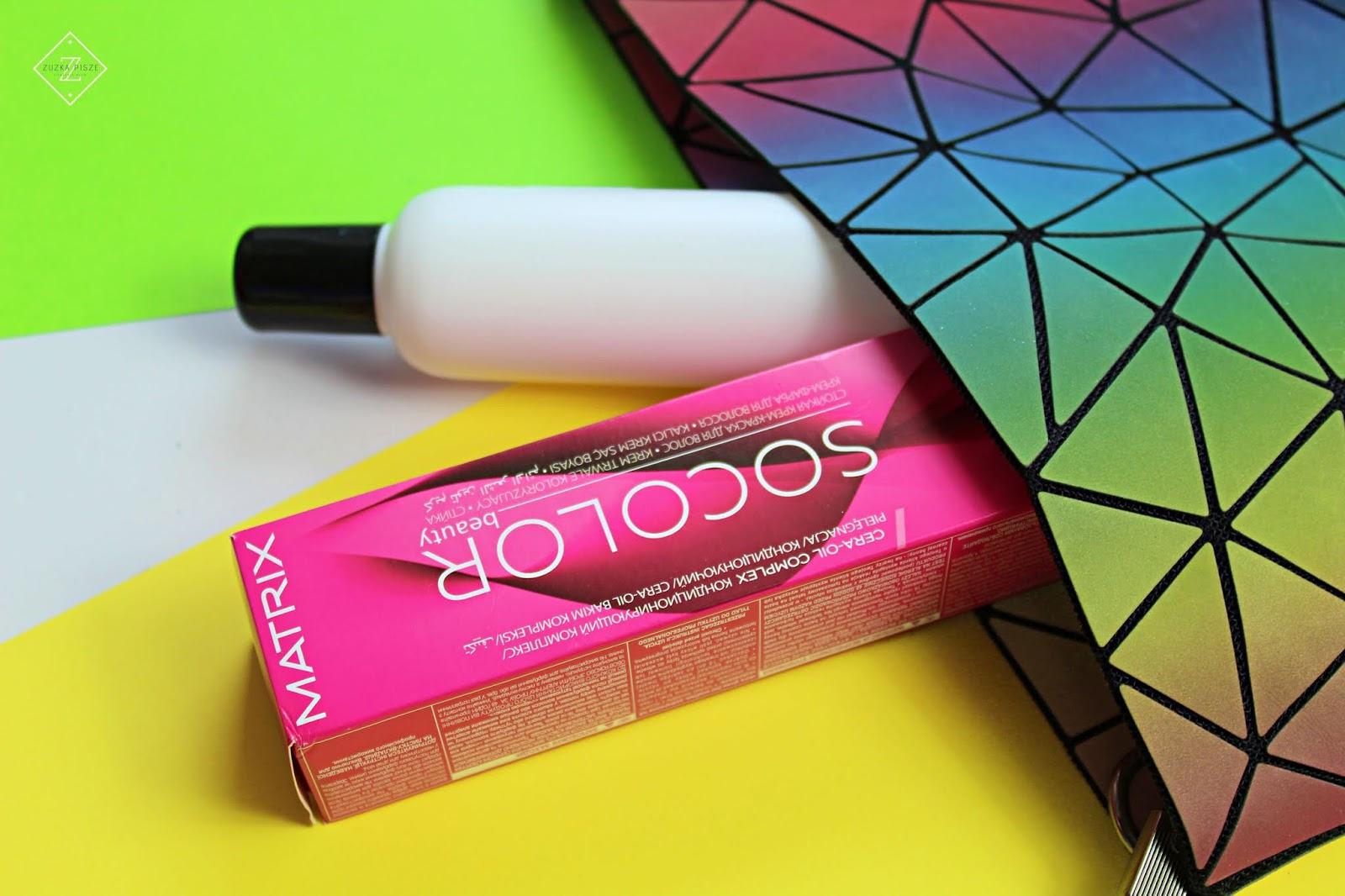 Matrix SOCOLOR.Beauty, gotowy zestaw do koloryzacji: farba + oxydant