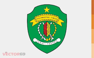 Logo Provinsi Kalimantan Timur (Kaltim) - Download Vector File AI (Adobe Illustrator)