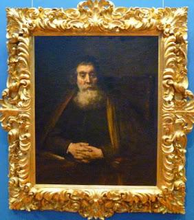 Retrato de Hombre Viejo  de Rembrandt.