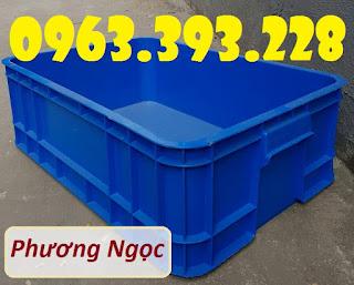 Thùng nhựa đặc cao 20, thùng nhựa B1, thùng nhựa đựng linh kiện