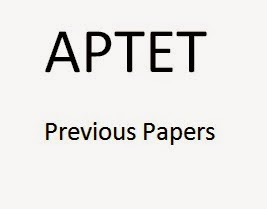 APTET Previous Papers