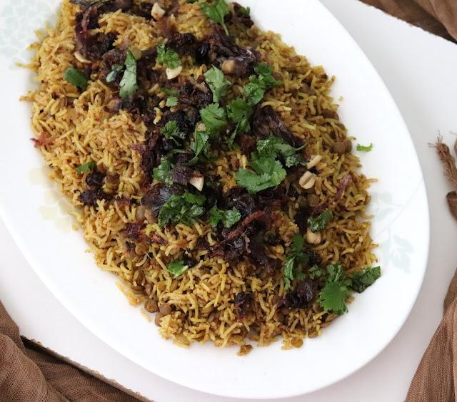 mejadra rice