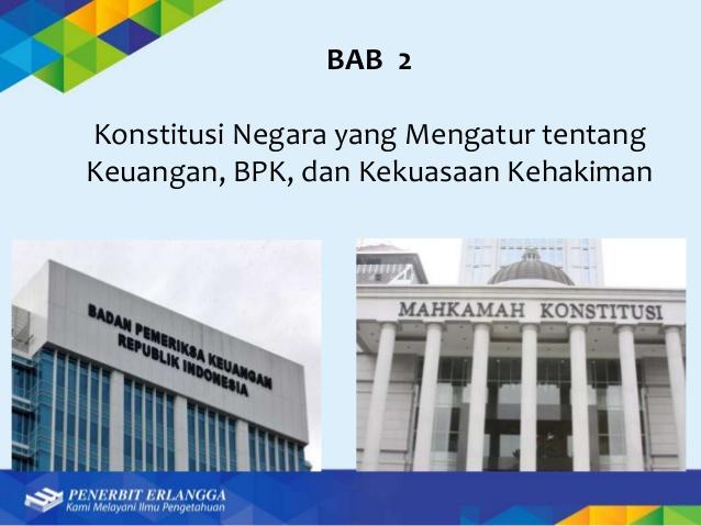 Fungsi utama Badan Pemeriksa Keuangan (BPK) adalah ...
