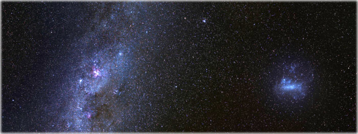 misteriosa galáxia fantasma - Ant 2