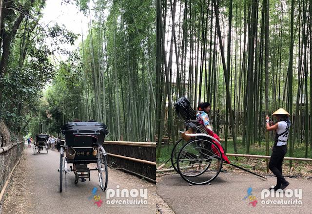 Kyoto Tourist Spots Arashiyama Bamboo Grove