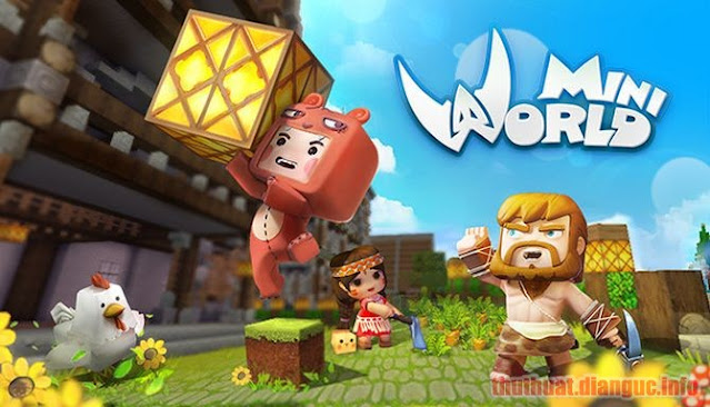 Download Game Mini World: Block Art Full