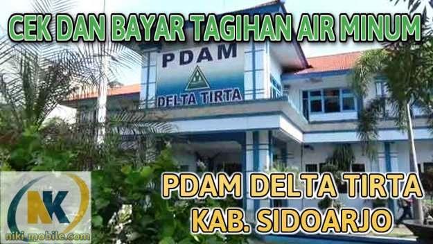 Niki Reload - Cara Cek dan Bayar Tagihan Air Minum PDAM Kabupaten Sidoarjo Jawa Timur