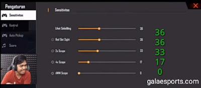 Sensitivitas Wawan MKS Terbaru 100% Auto Headshoot!